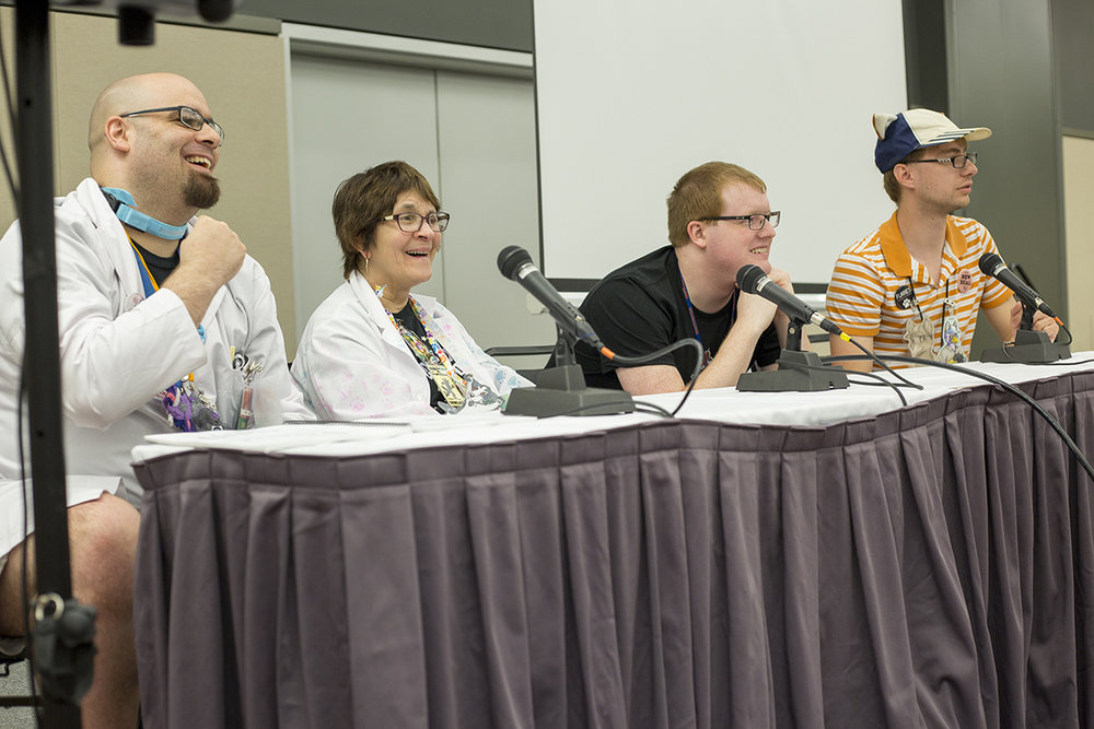 Q&A Panel following a screening of FURRIES at Anthrocon
