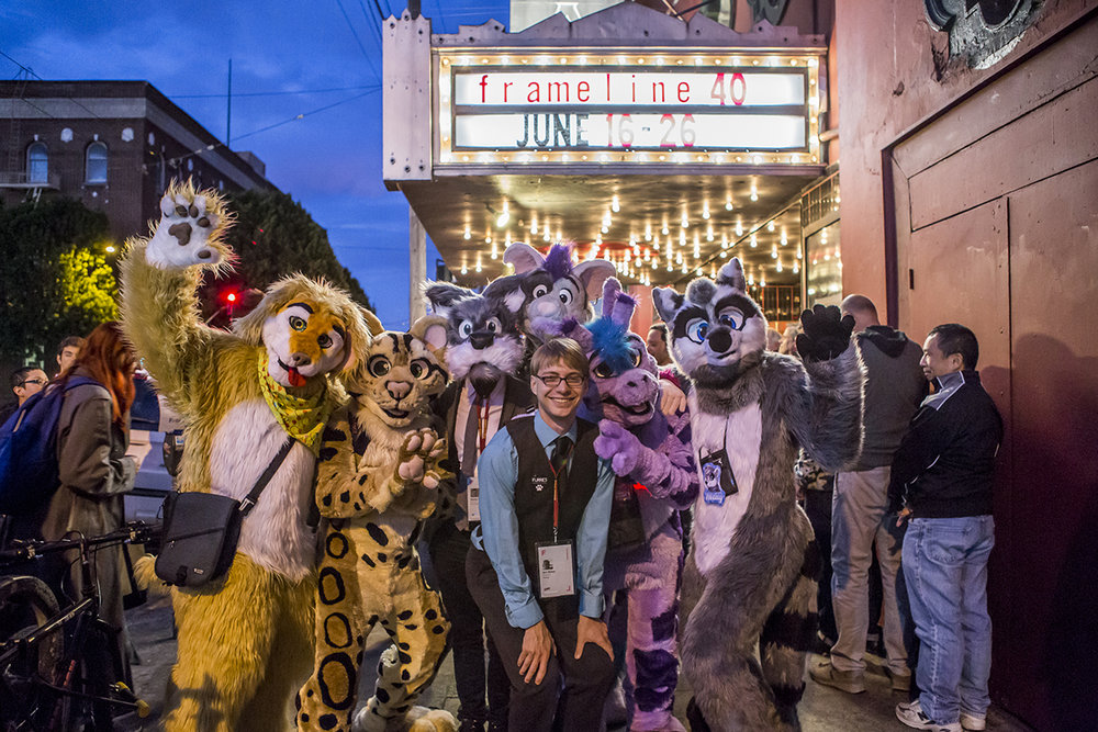 The world premiere of FURRIES at the Framline 40 Film Festival in San Francisco