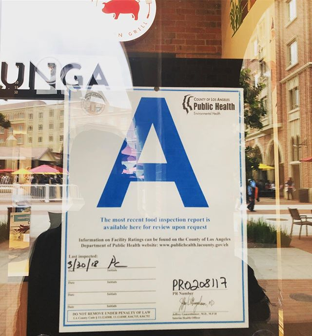 If only they gave A+'s... #ABC #AlwaysBeCleaning #ifyoucanleanyoucanclean #food #health #grades #workhard #playhard #kobunga #korean #koreanbbq