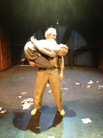 A scene from my play Everything Blows Away.