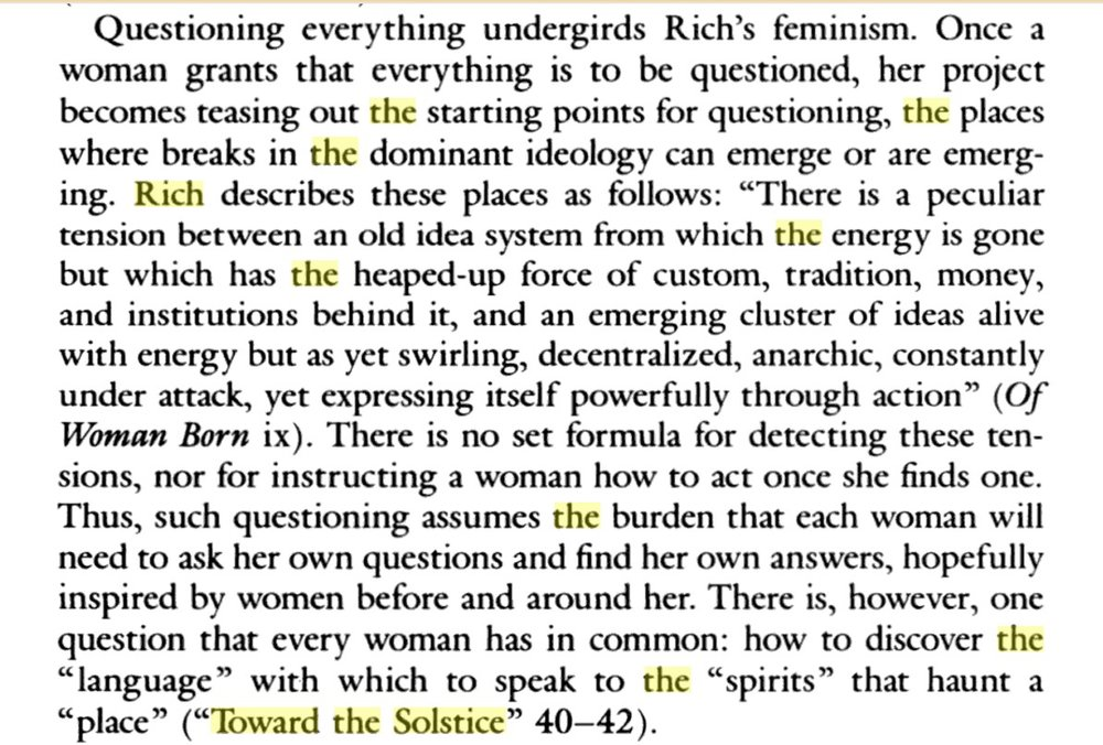 Anglo-American Feminist Challenges to the Rhetorical Traditions: Virginia Woolf, Mary Daly, Adrienne Rich    by    Krista Ratcliffe