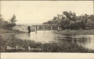 Death's Bridge, Charles River, Sherborn, MA circa 1905