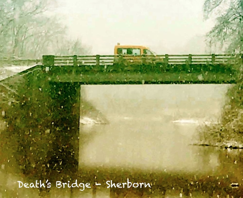 Death's Bridge, Sherborn/Medfield Line, Charles River, Route 27