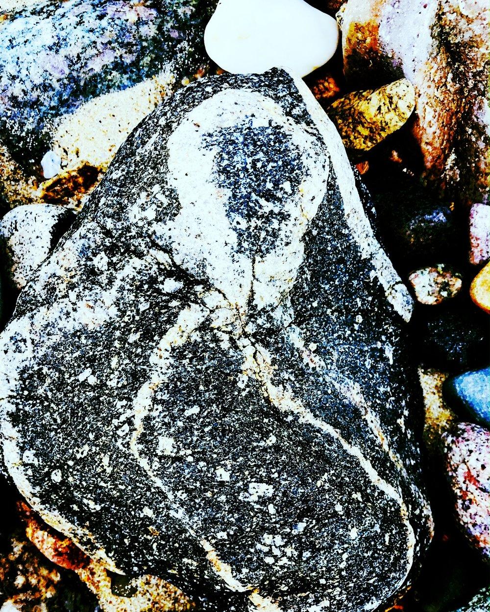 woman in rock.JPG