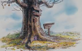 Piglet's House, From Winnie the Pooh, A.A. Milne