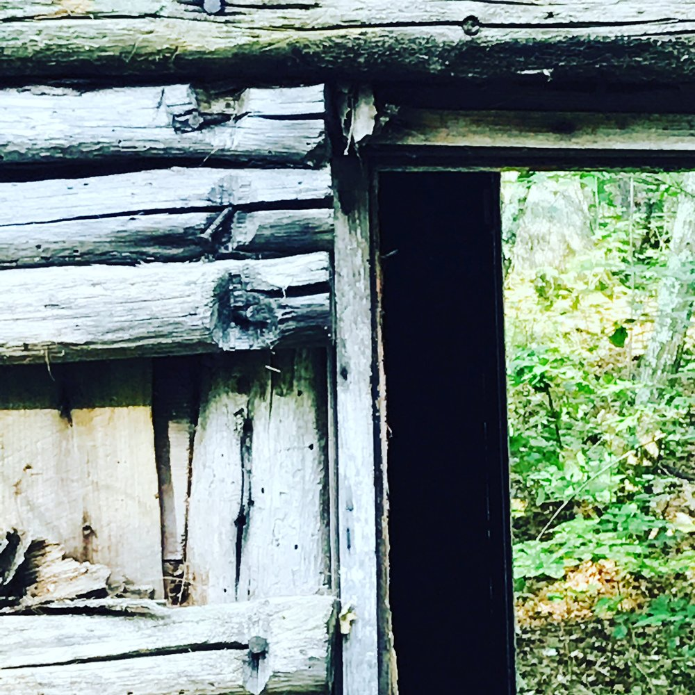 Old Cabin, A Window