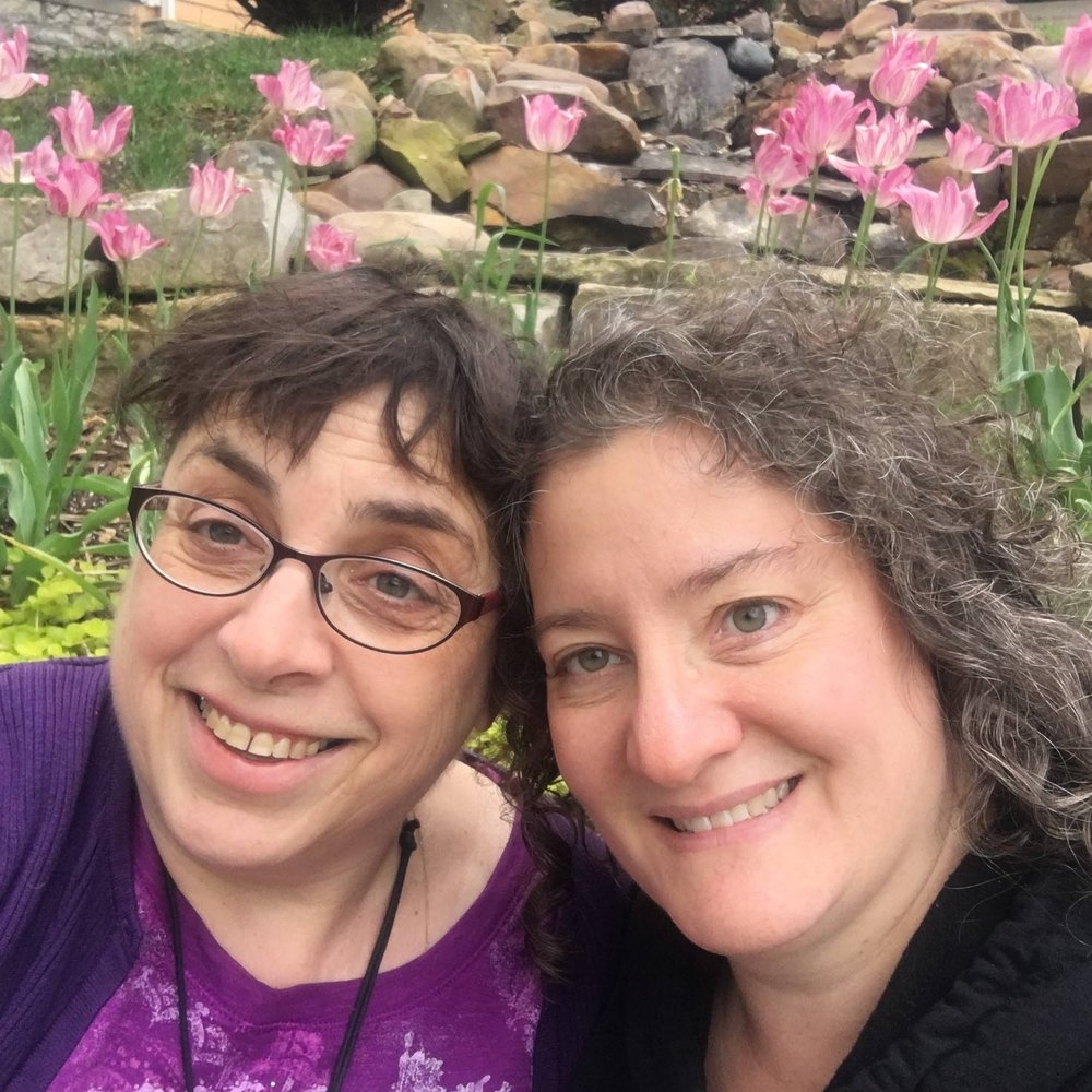 From Left to Right: Caryn Mirriam-Goldberg & Laura Packer