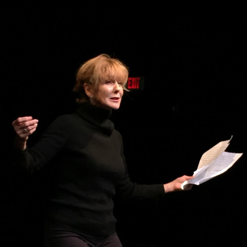Actor Sally Nutt at Our Voices Festival