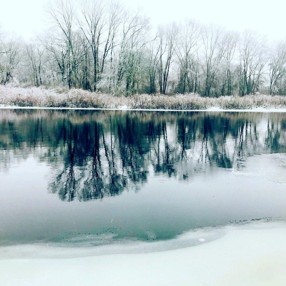 Charles River, Christmas Morning