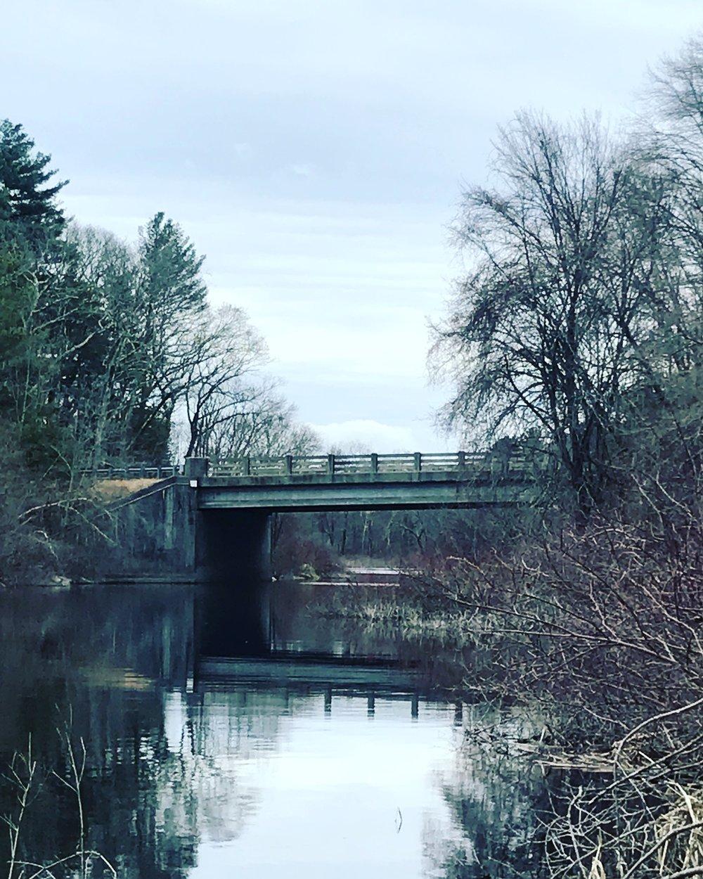 Death Bridge, April Morning, Charles River