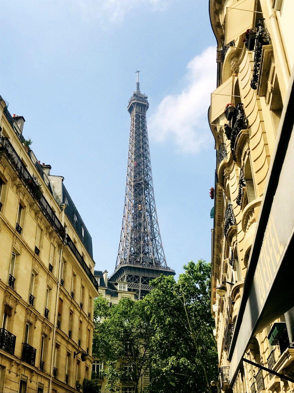 From Rue de Monttessuy, Paris