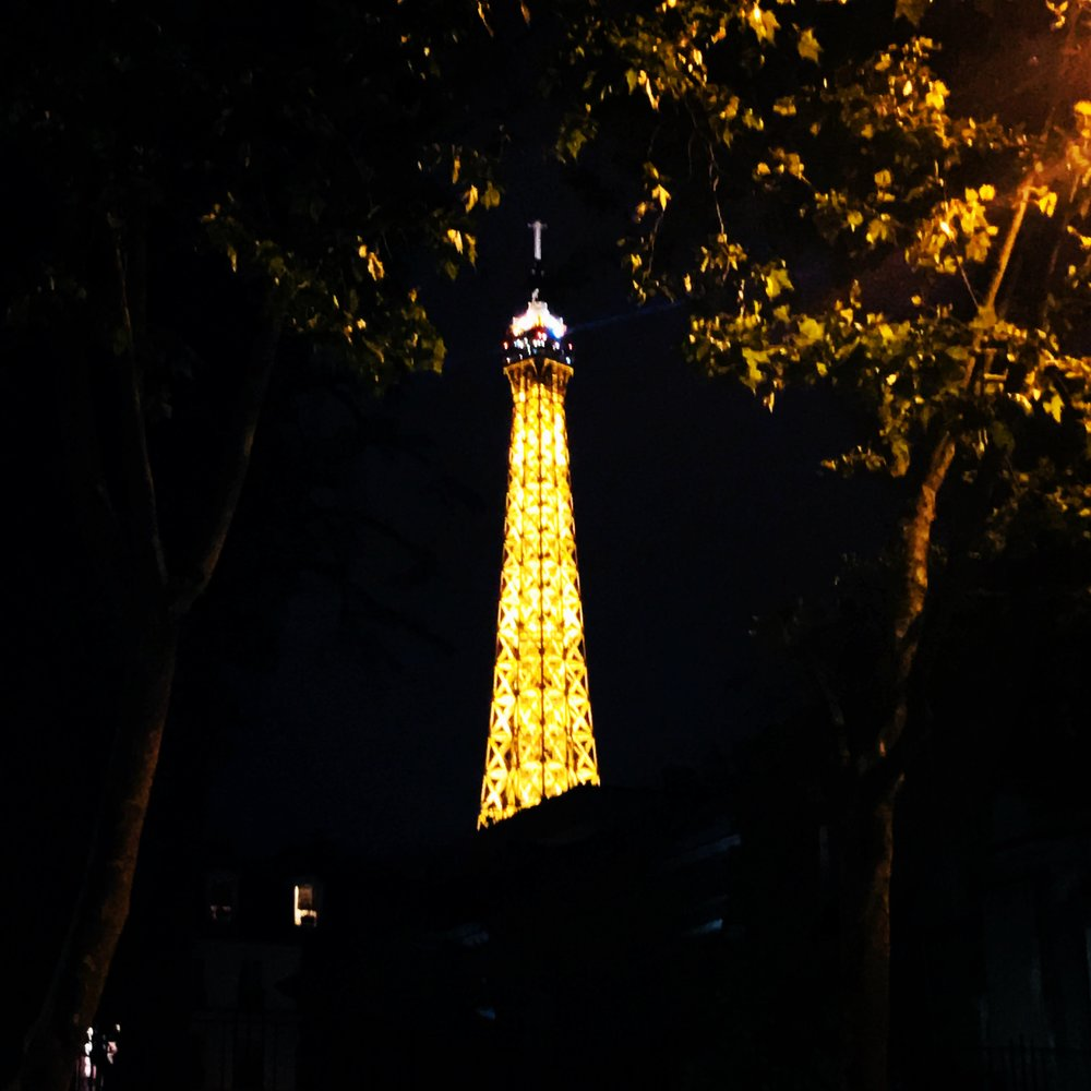 Eiffel Tower, tonight