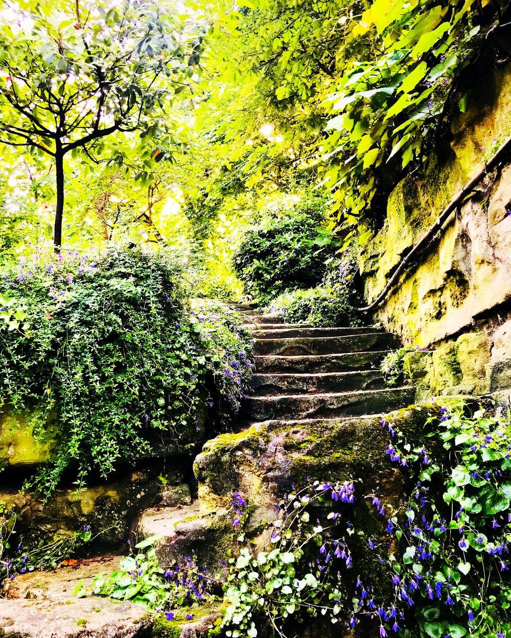 Garden at the Grand Palais