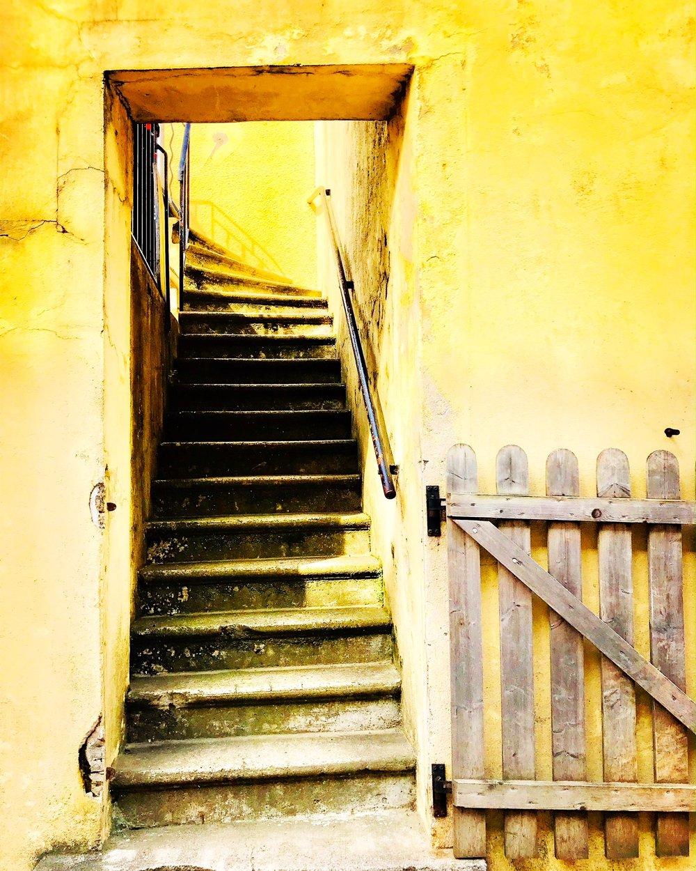 Stairway, Saint-Fortunat-sur-Eyrieux