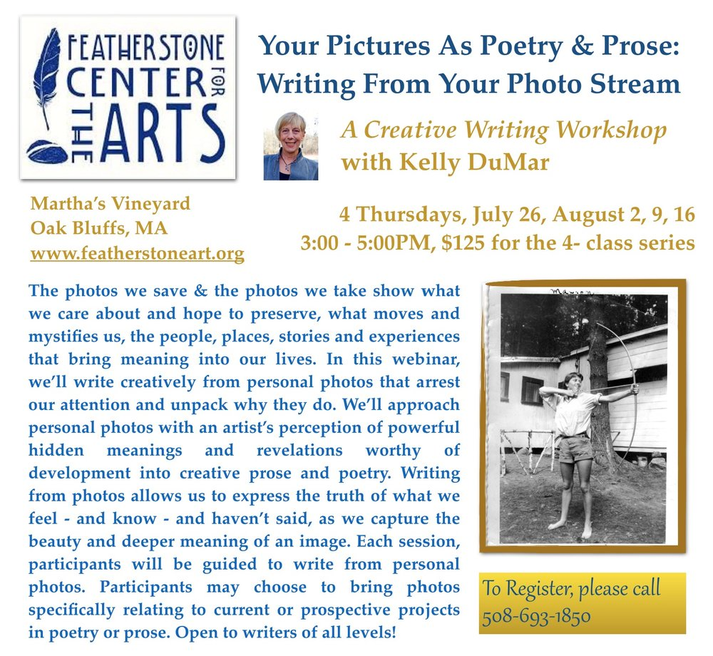 http://www.featherstoneart.org/summer-classes-2018#TOC-WRITING