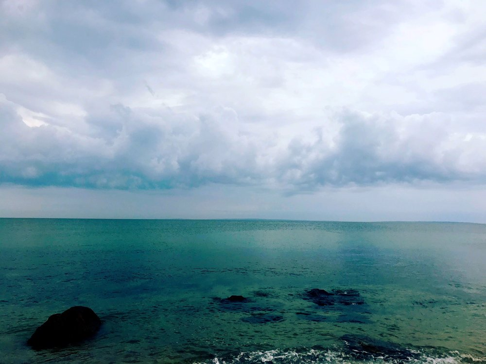 Cloudy Menemsha Morning