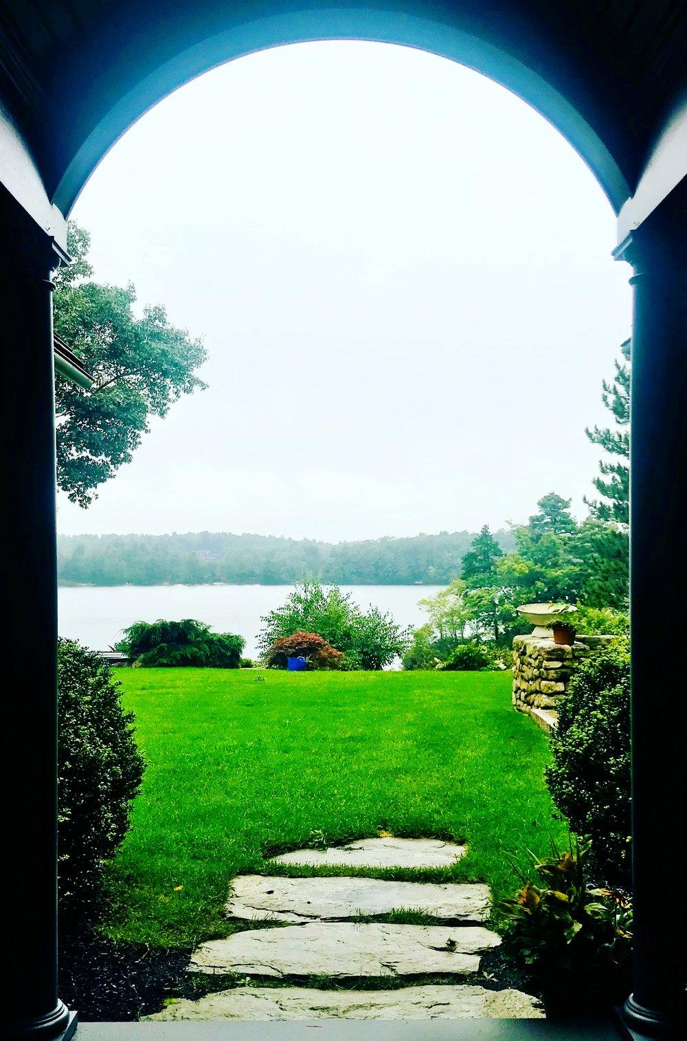 Liz's Arch, Farm Pond