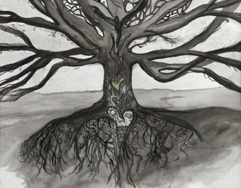 Dreaming Tree: Art by Sarah Tallarico