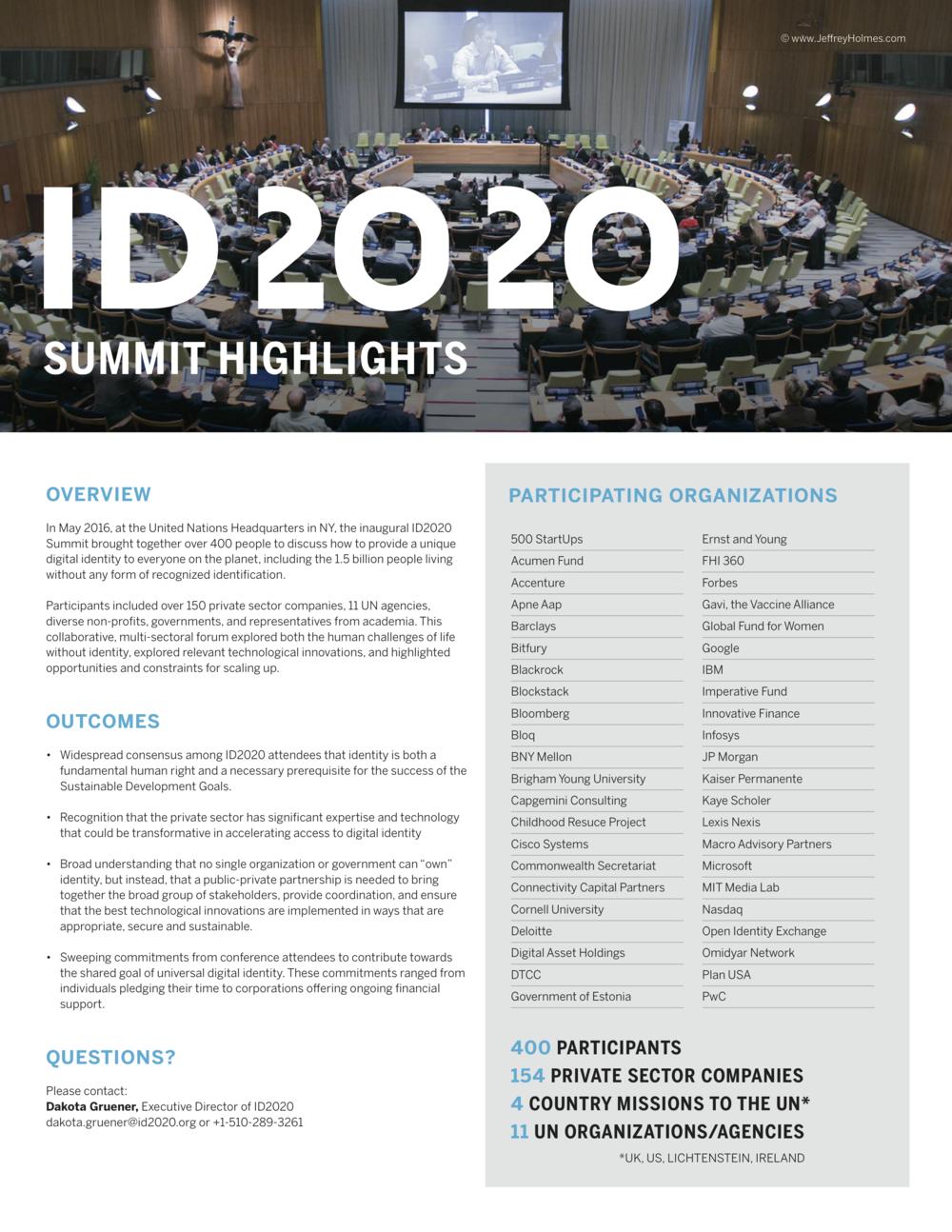2016 Summit Highlights