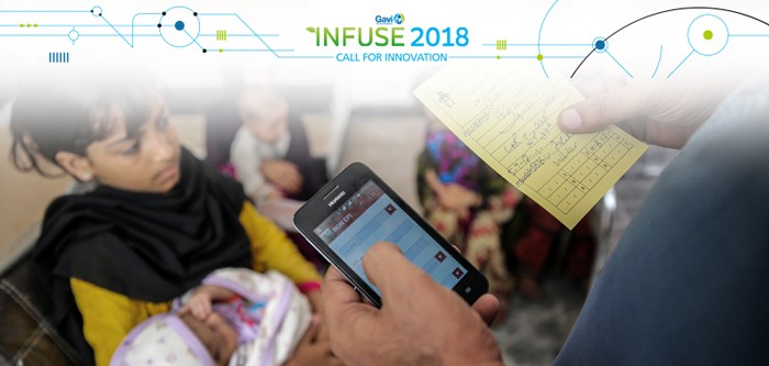 INFUSE 2018 is calling for proven digital technology innovations — adapted to low-resource environments in developing countries — to help identify and register children, especially girls, who are at risk of missing out on life-saving vaccines. The deadline to apply for Gavi's 2018 INFUSE program is    April 10th   . Apply    here   .