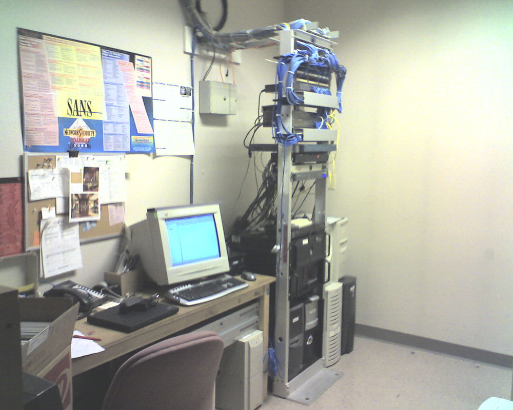 2007 server room (before us)