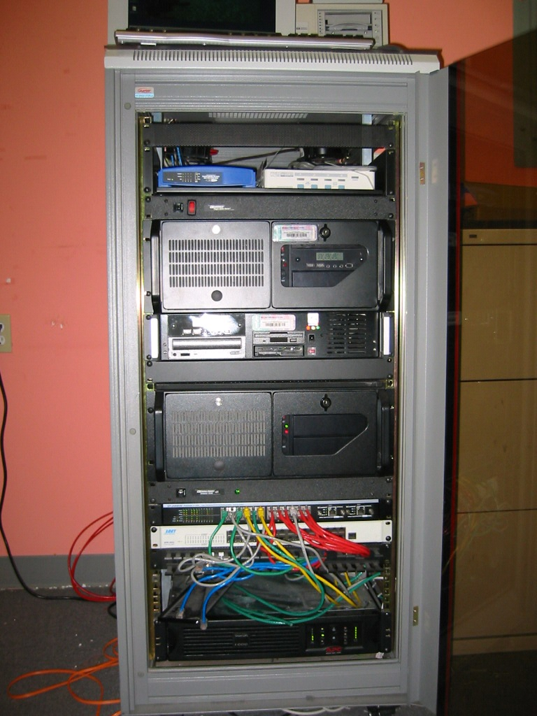 Server rack 2006 (before us)