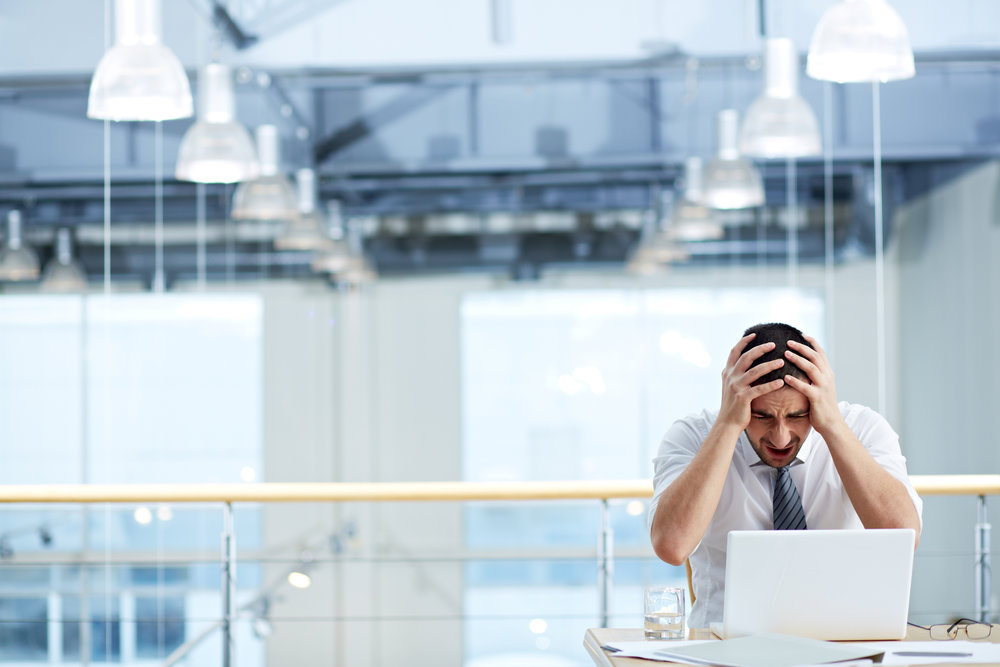 Your boss gives you a critical task to do. 30 minutes into it, an error pops up.You think
