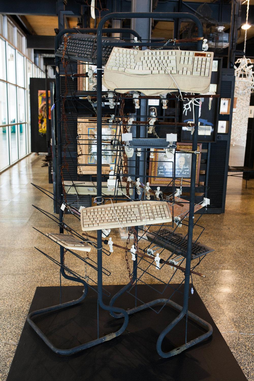 Chained (High-Tech America) - Joe Minter