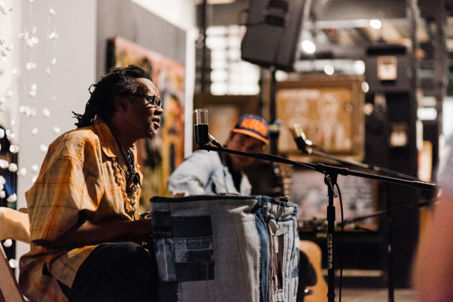 5/24: Musical performance in the gallery by  This is where you'll find me  artist, Lonnie Holley, and Lee Baines 111.