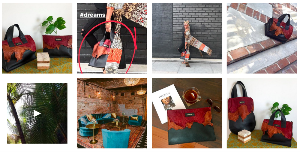 SIWEL Leather Travel and Lifestyle Handbags on Instagram