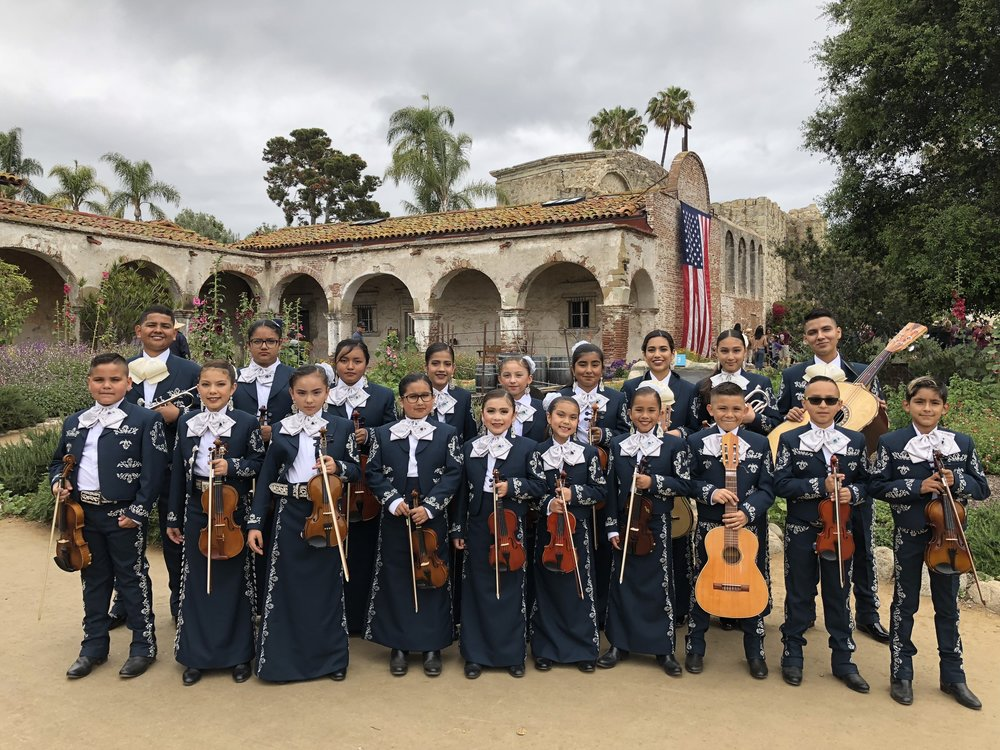 Our tier-one ensemble, Mariachi Real de la Viña, under the direction of Anaí Morales