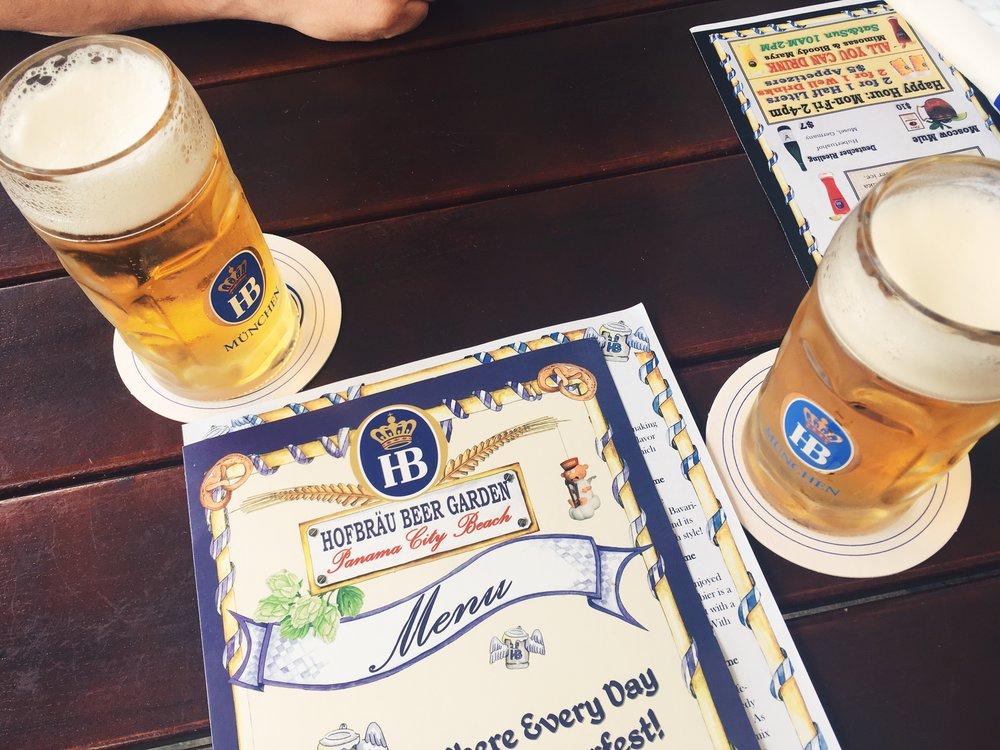 Hofbrau Beer Garden -