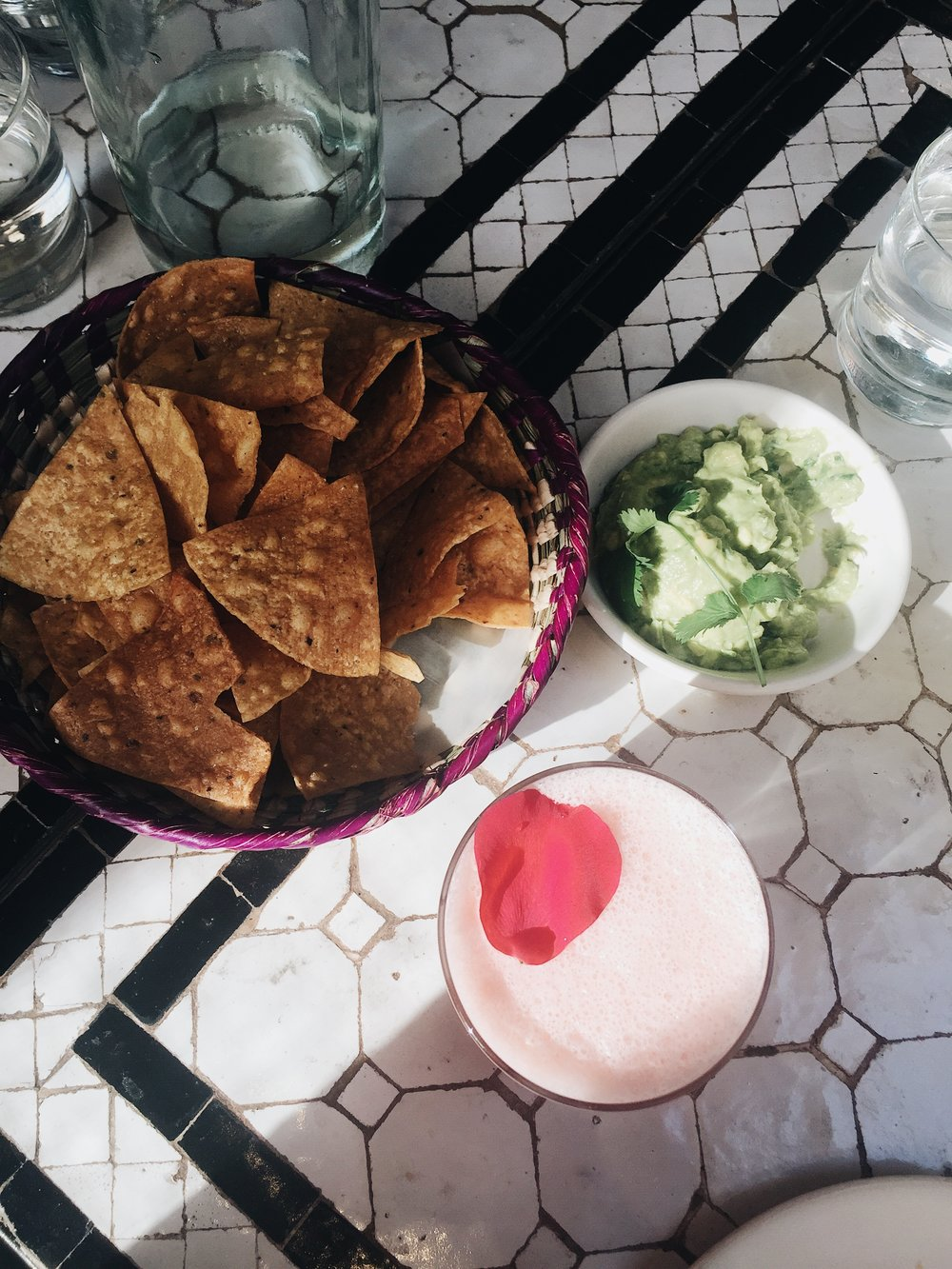 - Chips & Guac at Gracias Madre.