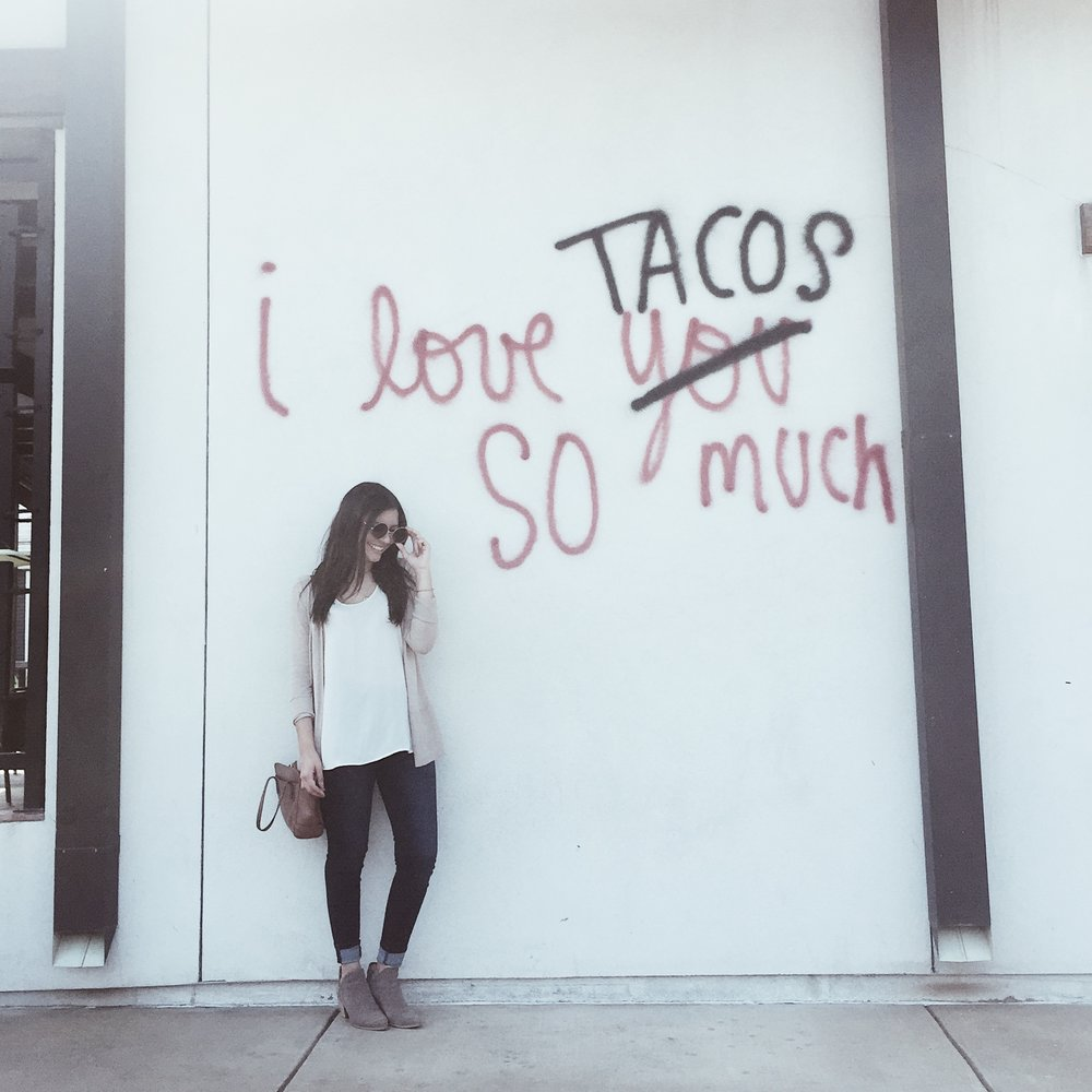 Outside Urban Taco -