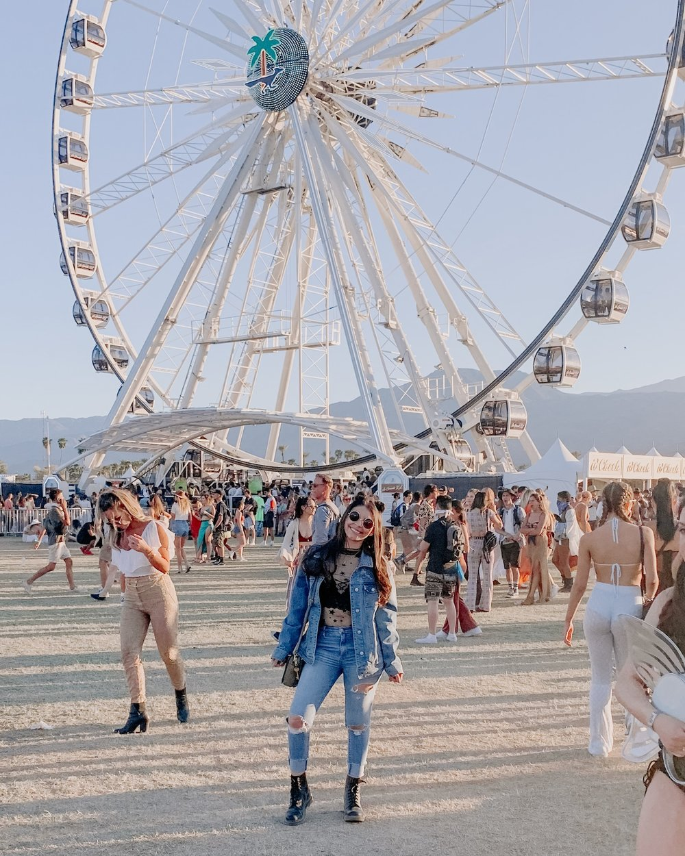 Getting to Coachella -