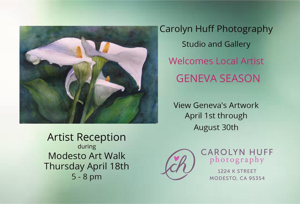 Geneva Season at Carolyn Huff Gallery