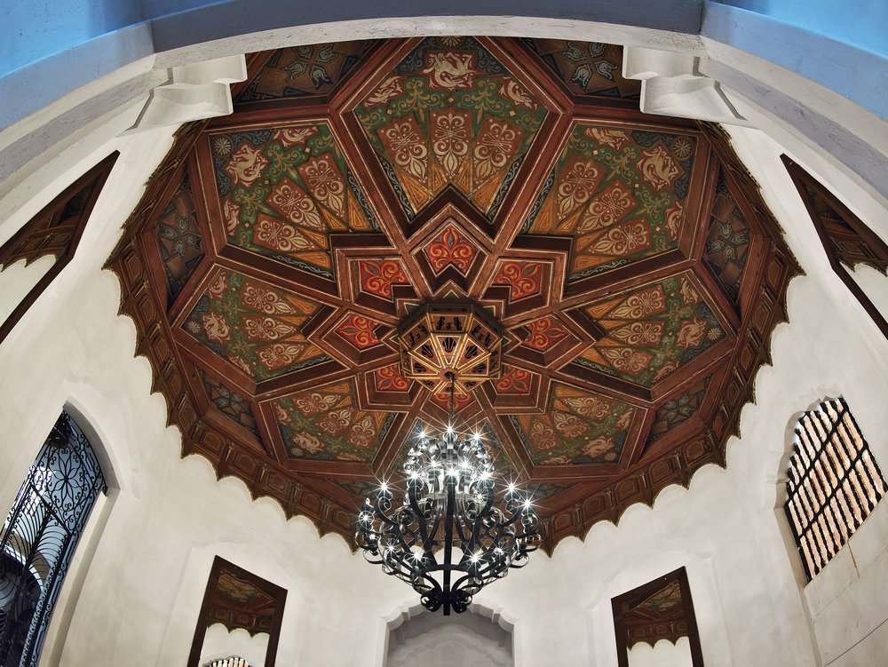 Ceiling Design (Diseño de techno), Hotel Playa Ensenada  Ensenada, Baja California 1929