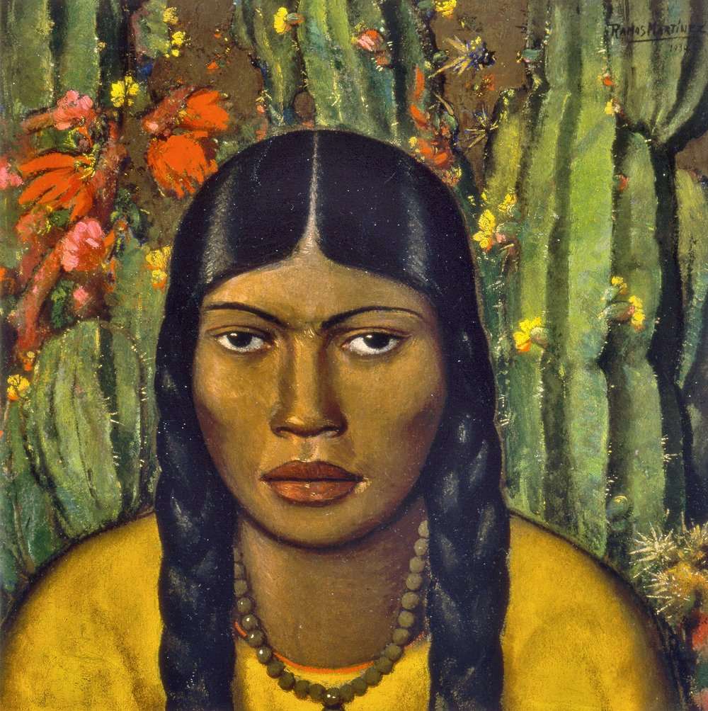 Manca Coyota 1930 oil on cardboard / óleo sobre papel cartón 15.1 x 15.1 inches; 38.4 x 38.4 centímetros Museo Andres Blaisten
