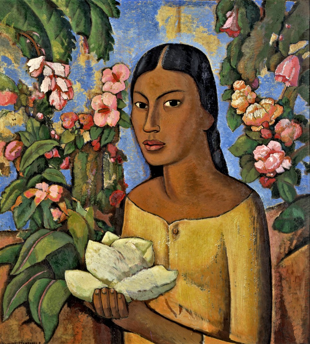 India Xóchitl / Indian Woman, Xochitl  ca. 1930 oil on panel / óleo sobre panel 26.4 x 24 inches / 67 x 61 centímetros Private collections