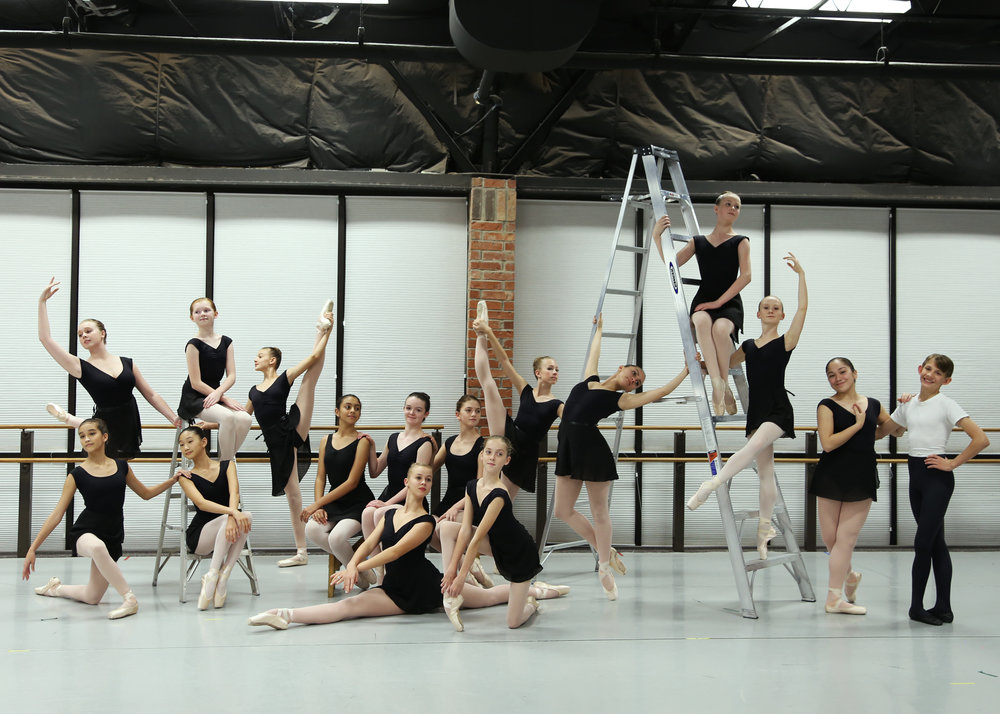 Company Auditions   Friday, June 30 from 10am - 12pm   Open to all local dancers 11+ with pointe shoes.