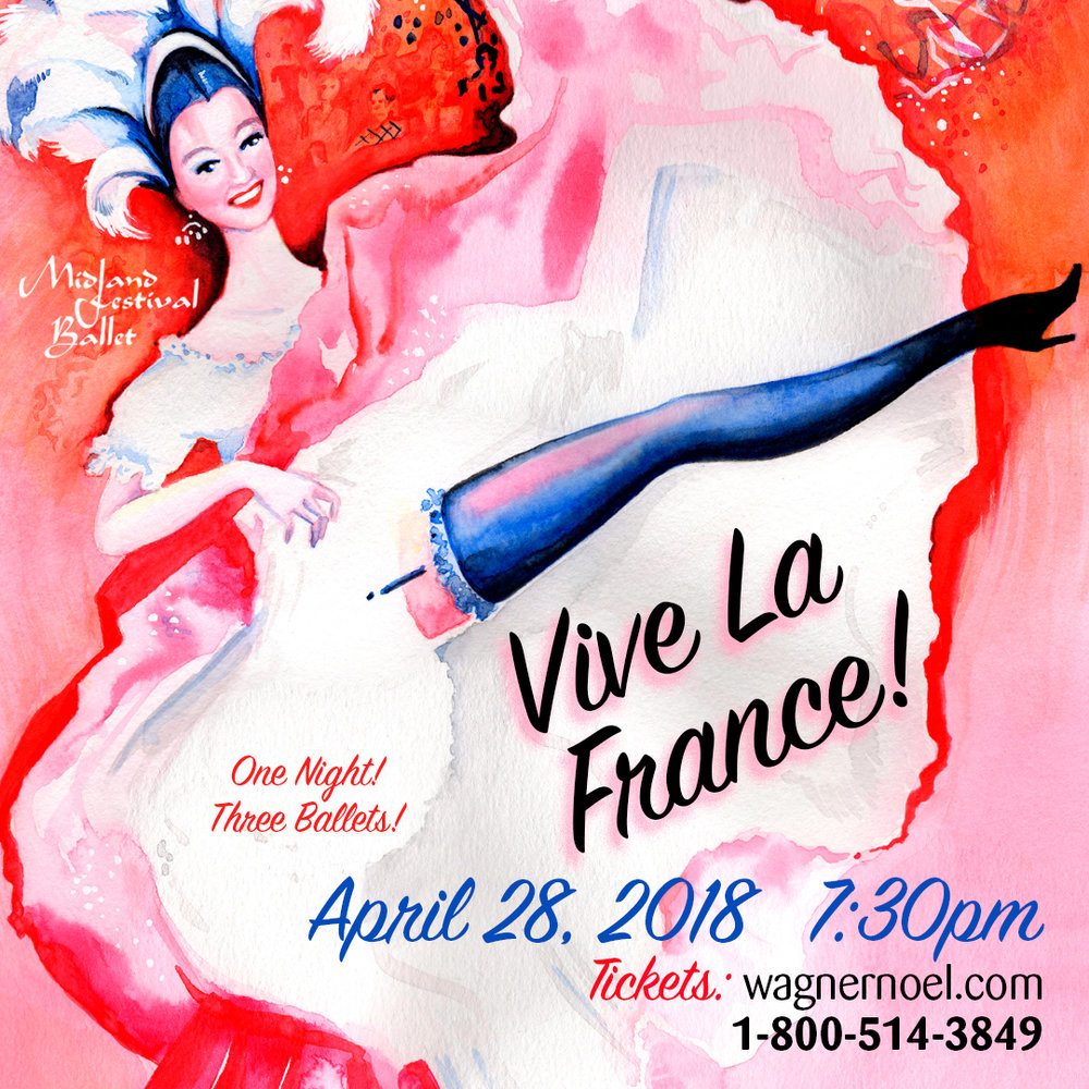 Vive La France!   Tickets Start at $10!   More Info
