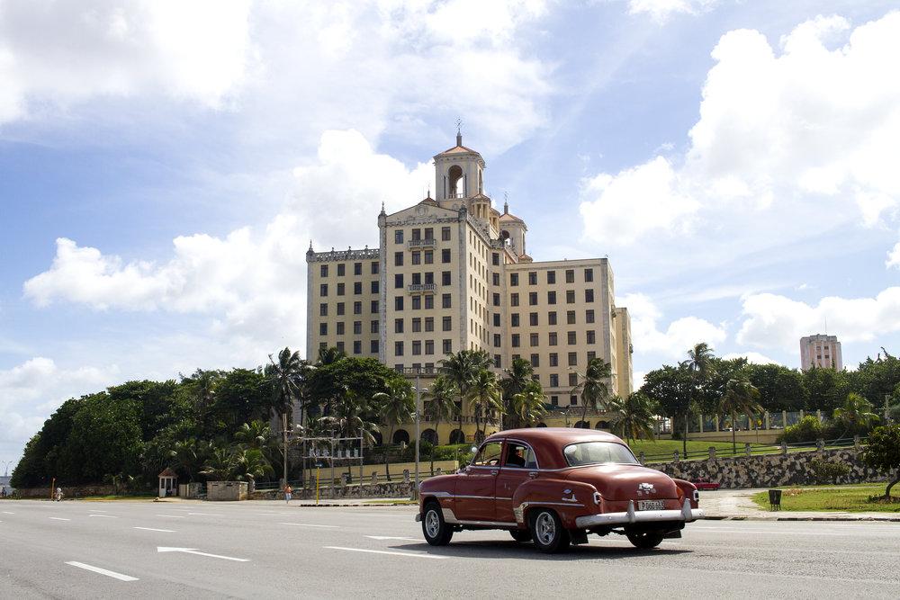 Hotel Nacional in Vedado, Havana