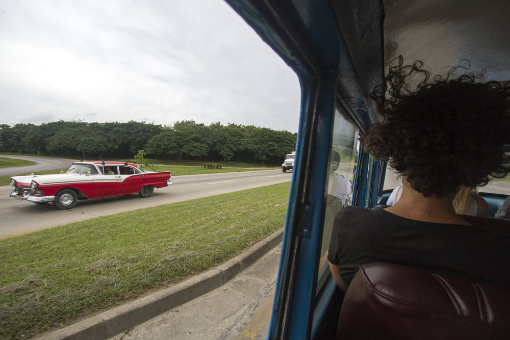 Our collectivo ride to Viñales