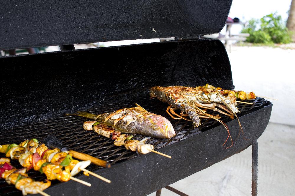 Street seafood