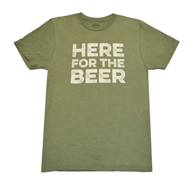 Here for the Beer t-shirt — LARD & SAVOR Funny T-Shirts, Clothing ...