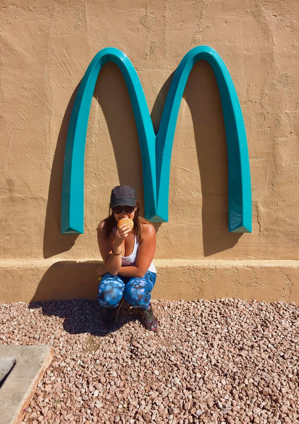 McDonald's Blue Arches, Sedona, Arizona