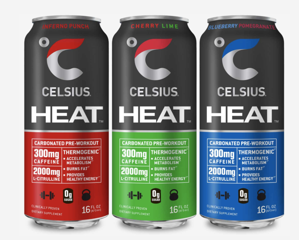 Celsius Heat Fitness Drink