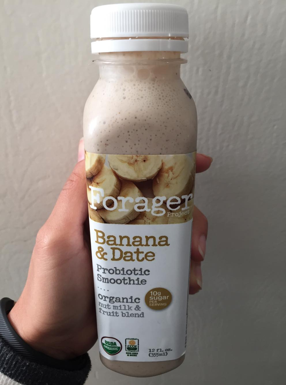 Forager Project Banana & Date Probiotic Smoothie