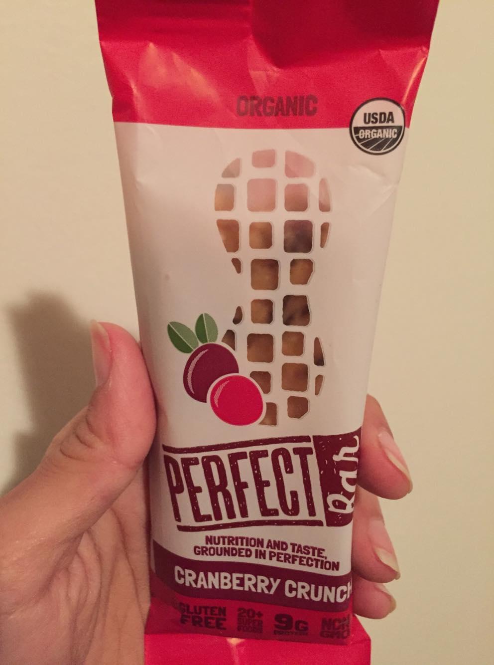 Cranberry Crunch Perfect Bar