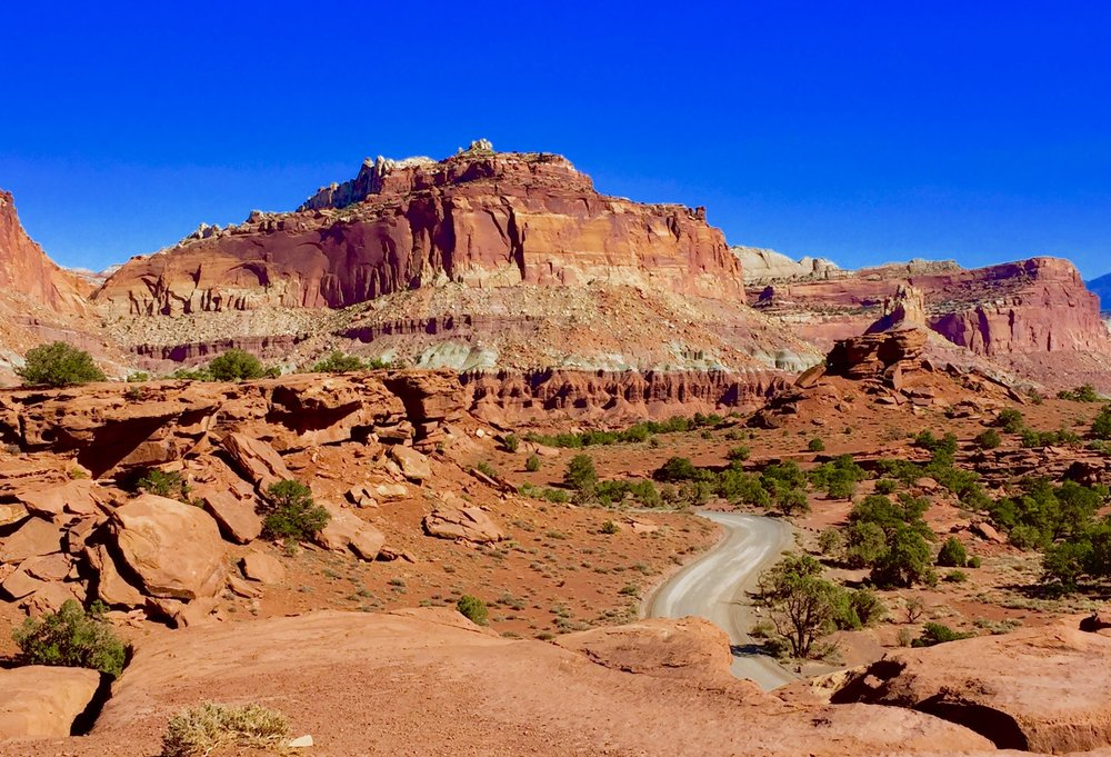 Panorama Point, Capitol Reef National Park, Utah